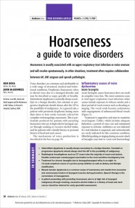 Medicine-Today-Voice-Disorders-Ron-Bova